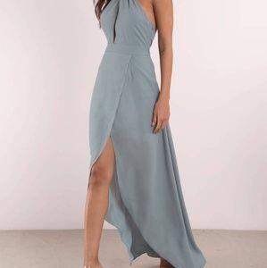 PATTI BLUE MAXI DRESS